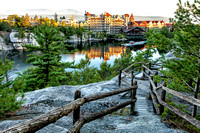 First Light at the Mohonk Mountain House
