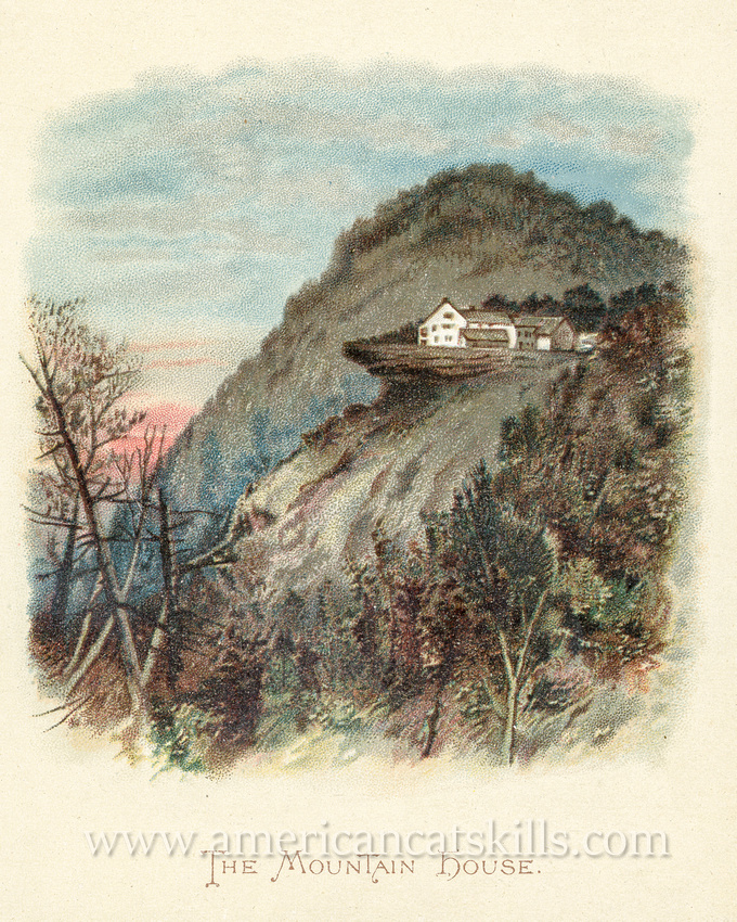The beautiful pictorial book titled Mountain Echoes Through the Catskills was published by Wolf and Company located in Philadelphia, Pennsylvania.