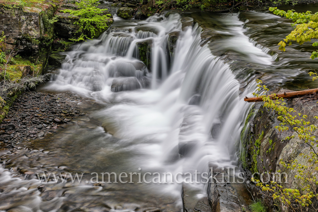 Schalk's Falls is a scenic waterfall located at the base of Plattekill Cllove at West Saugerties, Ulster County, New York.