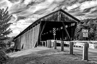 The Downsville Covered Bridge, in Downsville, New York, was constructed in 1854 by Robert Murray, a noted bridge builder.