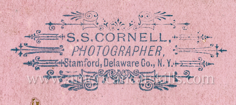 Schuyler S. Cornell was a popular photographer who operated out of the village of Stamford in Delaware County, New York for nearly 50 years.