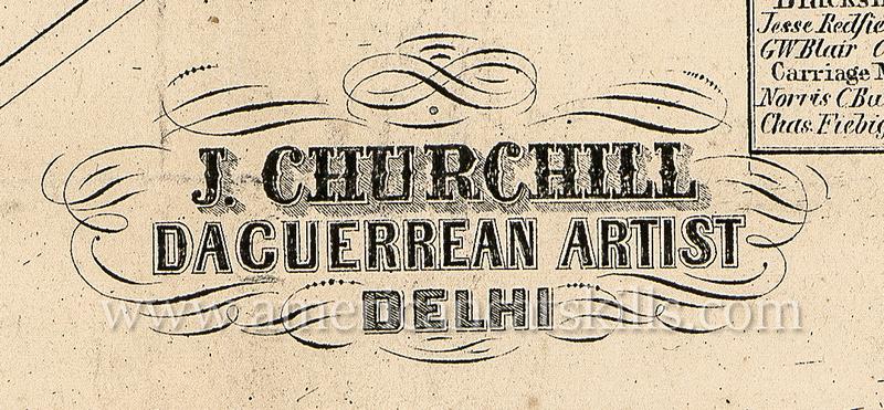 J. Churchill, Daguerrean Artist