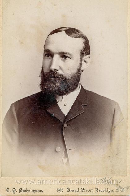 Male Portrait by C. O. Bickelmann