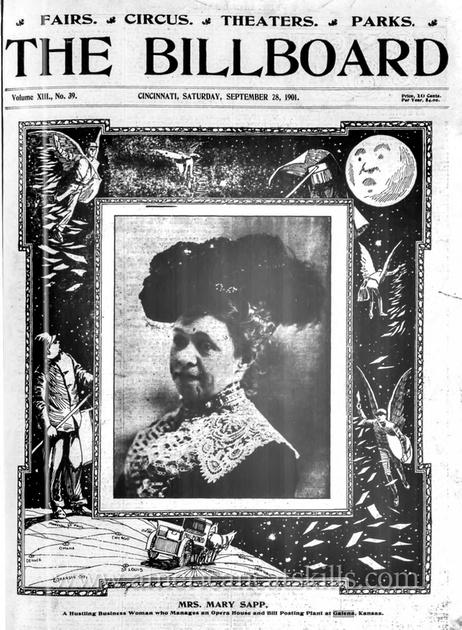 Mrs. Mary Sapp, daughter of Henry B. Aldrich