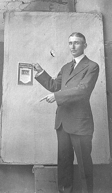 Frank Farrington, son of photographer Maurice Farrington
