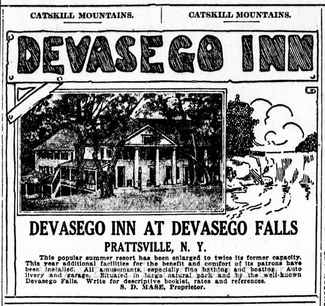 W. F. Spencer, Devasego Inn