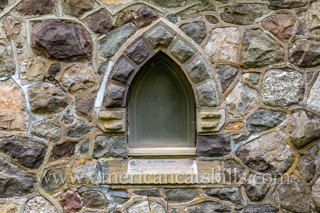 Gloria Dei Church located in Palenville, New York at the entrance to Kaaterskill Clove in the northern Catskills.