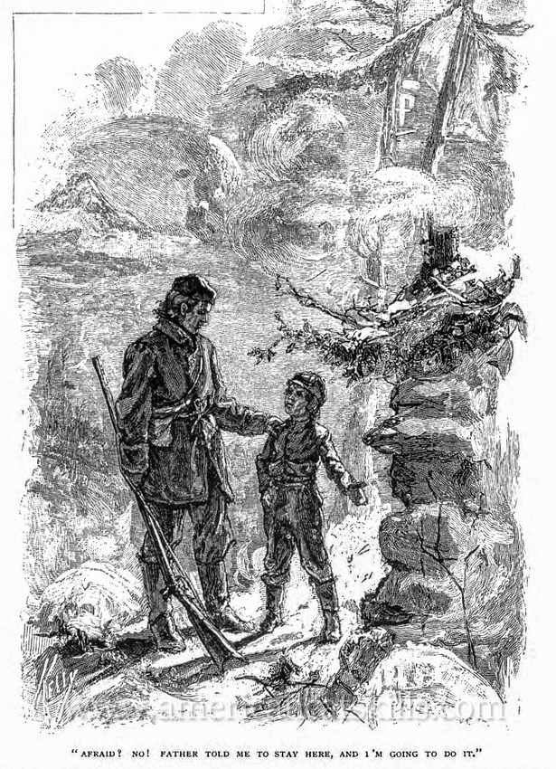 """""""Paul Jones of Overlook Mountain"""" is a short story by Laura Winthrop Johnson about an adventure in the northern Catskills during the winter of 1821."""