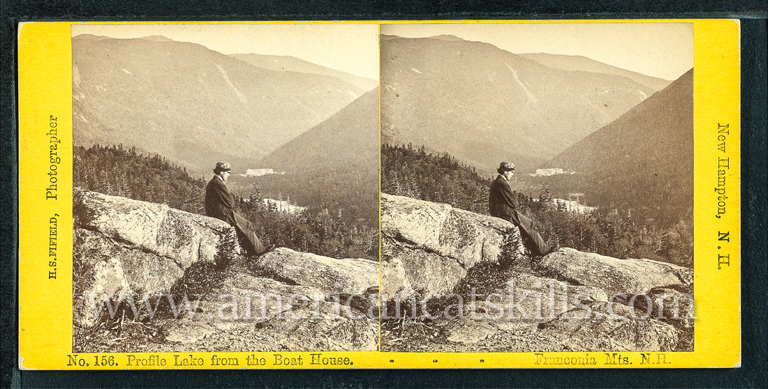 Henry S. Fifield was a well-known photographer most associated with his work at The Flume in the White Mountains of New Hampshire.