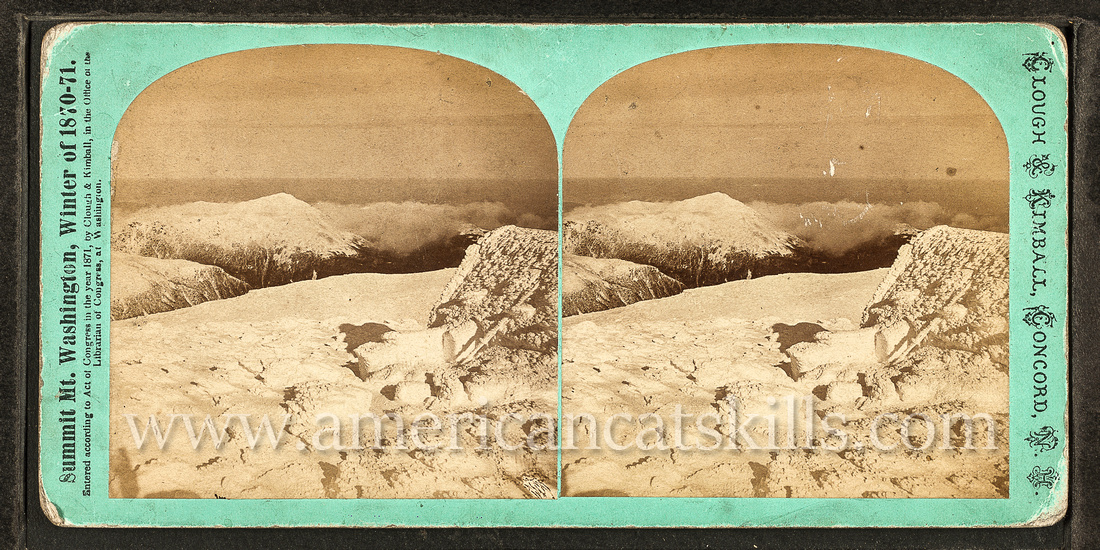 Clough and Kimball were photographers on the scientific expedition to the top of Mount Washington during the winter of 1870-1871.
