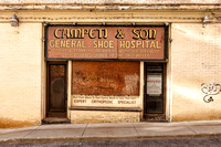 Campeti's General Shoe Hospital was founded in 1904 by Anthony Campeti, an Italian immigrant.