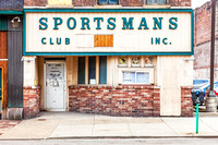 The Sportsmans Club located on Market Street in downtown Wheeling, West Virginia closed in 2015 after 60 years of business.