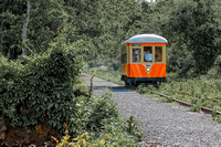 Visitors to the Trolley Museum of New York, located in the Rondout waterfront section of Kingston, can hop on a working trolley to take a 1 ½ mile trolley ride out to Kingston Point.