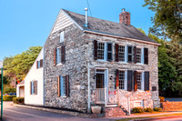 The salt-box style Cornelius Tappen House, also known as the Vandenburgh-Hasbrouck House, was constructed in circa 1704, making it one of the oldest buildings in historic Stockade District of Kingston