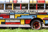 The replica Partridge Family bus is located in the town of Ashland, Greene County.
