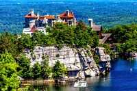 The Mohonk Mountain House in New Paltz, Ulster County, New York.