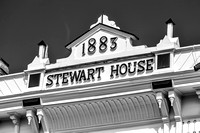 "The historic Stewart House, scenically located in downtown Athens on the Hudson River, was founded in 1883 by William H. ""Hardy"" Stewart."