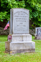 William Henry Newman, winner of the Congressional Medal of Honor, is buried in the hamlet of North Branch in Sullivan County.