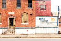 The Blue Ribbon Paint Company was located on Main Street within what is now the Warehouse Historic District of Wheeling, West Virginia.